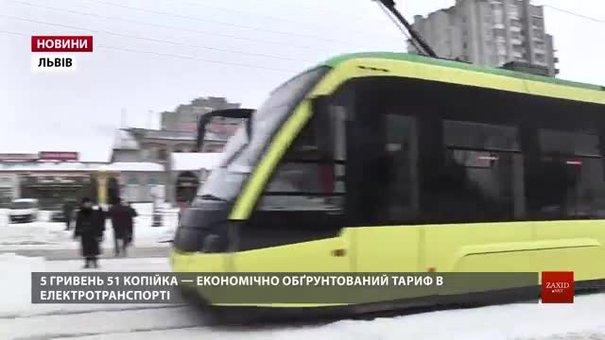Львівська міськрада подасть на погодження новий тариф на проїзд в електротранспорті