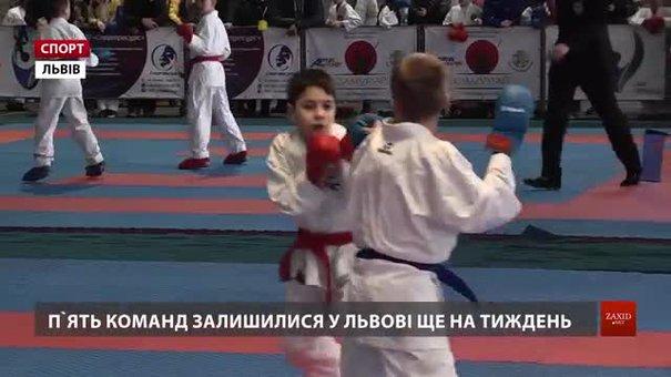 На Lviv International Cup найбільше нагород здобули каратисти клубу «Union»