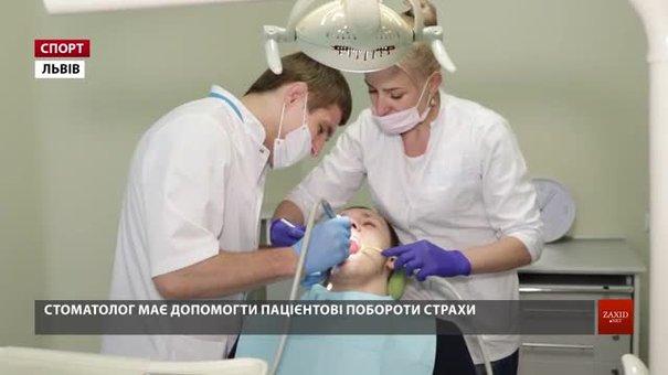 Львівський дзюдоїст Сергій Дребот на день став стоматологом