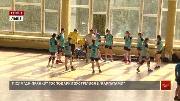 Львівська гандбольна «Галичанка» обіграла основних суперників за чемпіонський титул