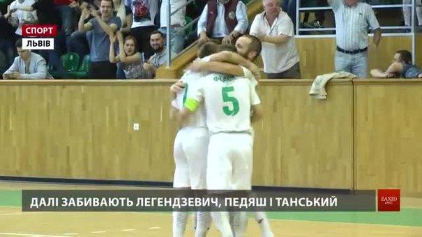 Львівська «Енергія» пробилася у фінал футзальної Екстра-ліги