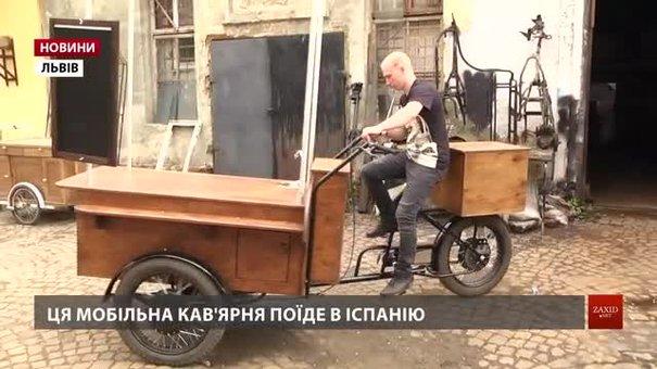 Авторські велосипеди львів'янина Володимира Бевза їздять в Африці, Америці і Піренеях