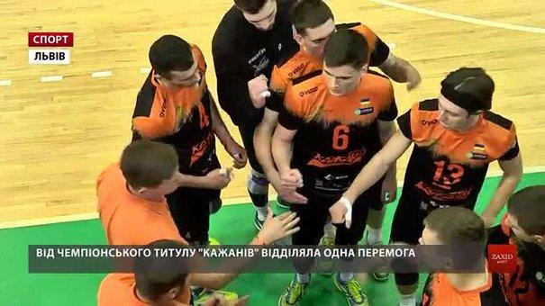 Львівські «Кажани» вдруге поступилися «Локомотиву» у фінальній серії чемпіонату України