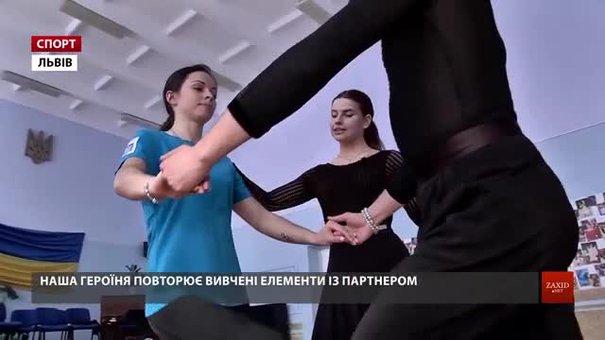 Чемпіонка Європи з карате львів'янка Катерина Крива вчилася танцювати джайв