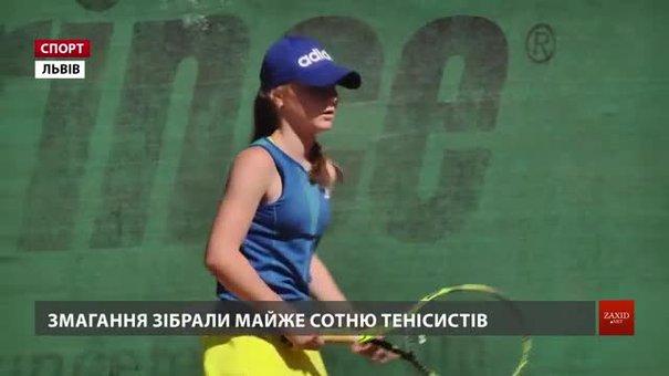 У Львові молоді тенісисти змагаються за рейтингові очки на Всеукраїнському турнірі