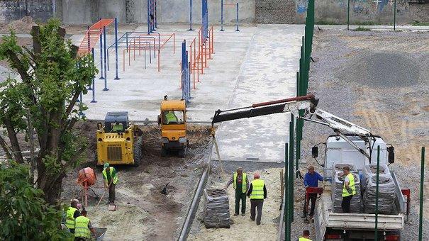 У 2018 році у Львові завершать реконструкцію спортивного майданчика школи №27