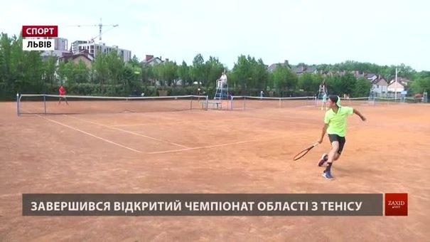 Відкрита першість Львівщини з тенісу зібрала рекордну кількість атлетів