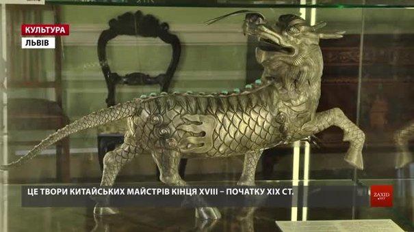 До Львова привезли скарби останнього китайського імператора династії Цін
