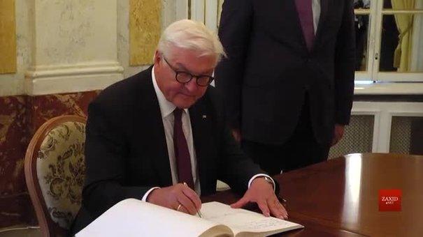 До Львова прибув президент Німеччини Франк-Вальтер Штайнмаєр