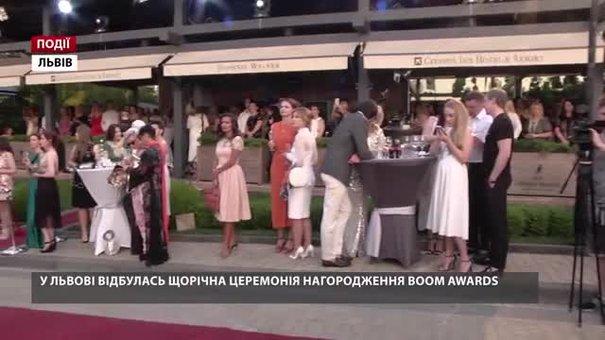 Львів'яни обирають кращих на щорічній премії BOOM AWARDS