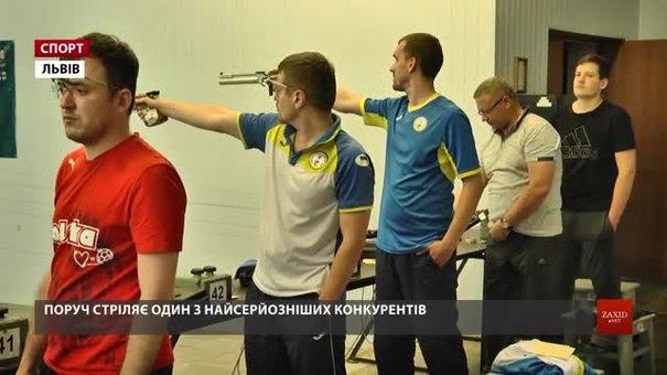 У Львові визначали чемпіонів України серед стрільців із вадами слуху