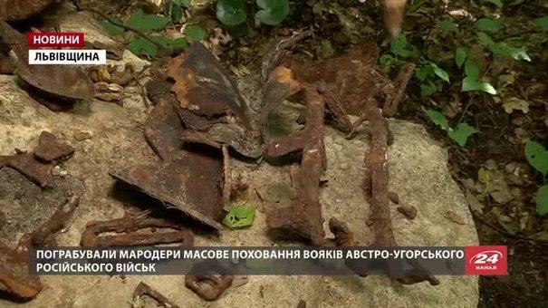 Пограбоване на Львівщині поховання не можуть дослідити через відсутність дозволів Мінкульту