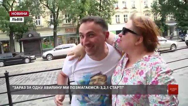 Ведучі Люкс FM зацілували львів'ян