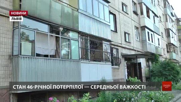 Стан жінки, яка постраждала внаслідок вибуху гранати на Некрасова, середньо важкий