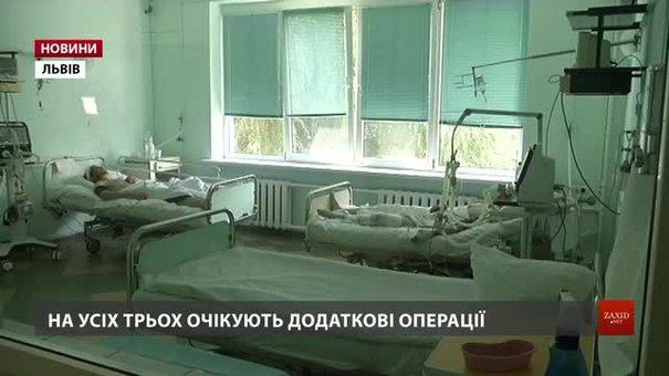 Львівські медики розповіли про стан поранених від вибуху міномета у Рівному