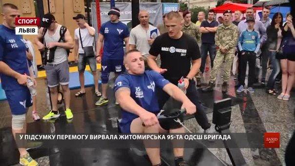 У Всеукраїнських змаганнях десантників у Львові перемогла житомирська 95-та бригада