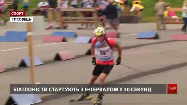 У Тисовці біатлоністи борються за путівки на чемпіонат світу