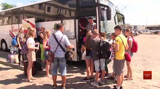 Зі Львова на відпочинок до Німеччини вирушили 32 дітей атовців