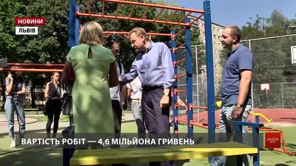 Cадовий розкритикував ремонт дворика на вул. Виговського