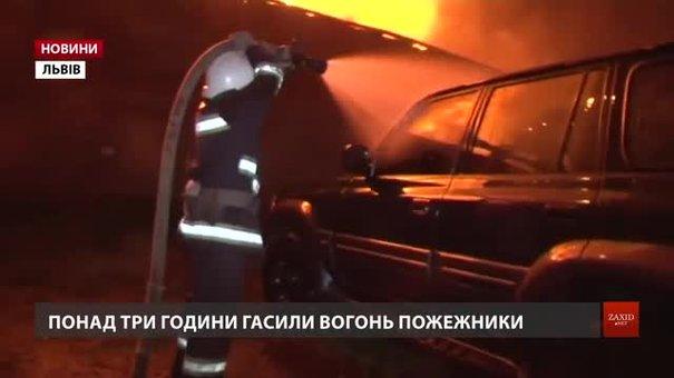 Причиною пожежі складських приміщень на Львівській цитаделі міг бути підпал
