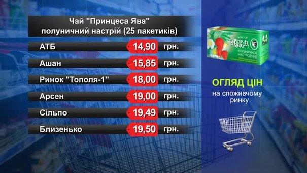 Чай «Принцеса Ява». Огляд цін у львівських супермаркетах за 6 вересня