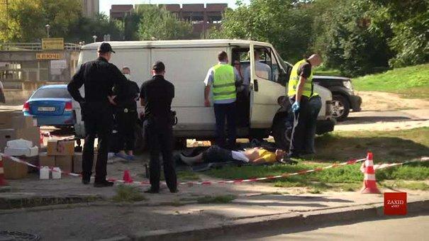 У закинутому автомобілі на Володимира Великого виявили вбитого львів'янина
