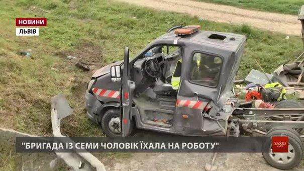 Онурівська ГАЗель гальмувала перед пішохідним переходом, коли в неї врізався бензовоз