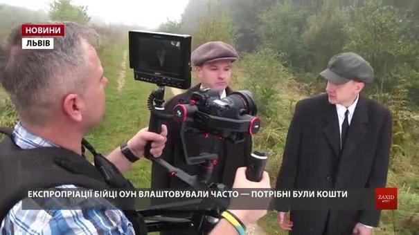 У Городку священик знімає фільм про пограбування пошти членами ОУН