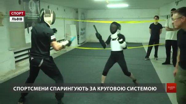 У Львові відбулися спаринги зі спортивного ножового бою
