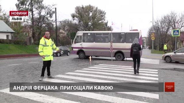 Львівський радіоведучий Андрій Ферцак увесь тиждень працював «жовтим добродієм»