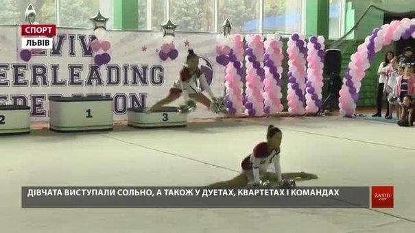 300 черлідерок позмагалися на Кубку Львівської області