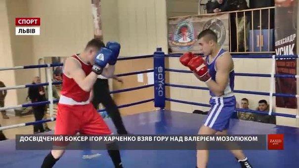 У Львові спортсмени-військовослужбовці боксували за титул чемпіона України