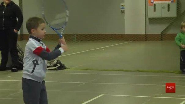 До Львова на турнір «Левеня» з'їхались юні тенісисти зі всієї  України