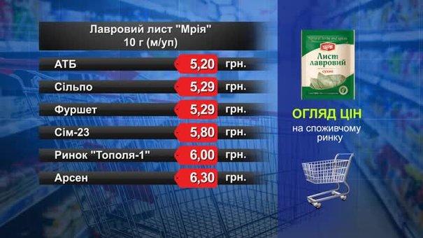 Лавровий лист «Мрія». Огляд цін у львівських супермаркетах за 19 грудня