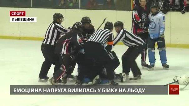 Хокейні «Галицькі Леви» двічі впевнено обіграли дніпровське «Динамо»