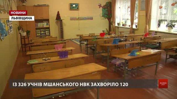 У зачинених на карантин школах Львівщини кварцують класи
