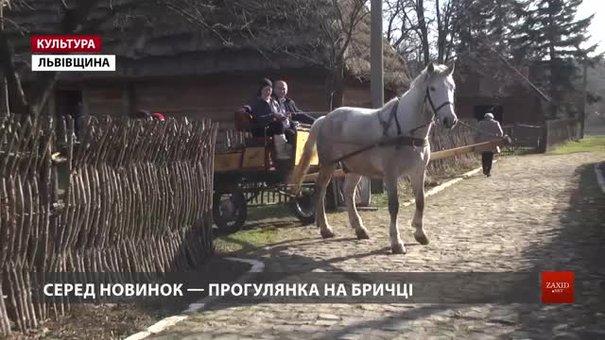 У Нагуєвичах туристам пропонують заночувати у заповіднику і повозитися на бричці