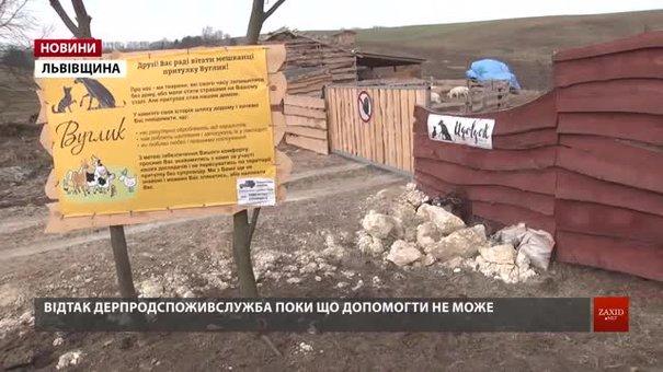 Інспекторів Держпродспоживслужби не впустили на територію притулку для тварин «Вуглик»