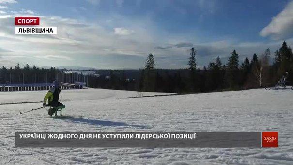 Українські паралімпійці здобули перше командне місце на чемпіонаті світу з зимових видів спорту