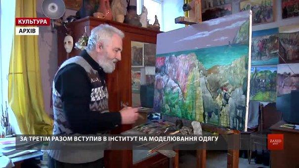 Львівський художник Михайло Безпальків святкує 80-річчя ретроспективною виставкою