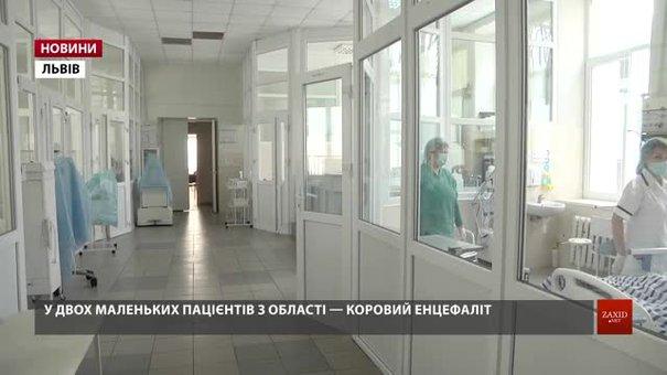 В інфекційній лікарні Львова двоє дітей перебувають в комі через кір