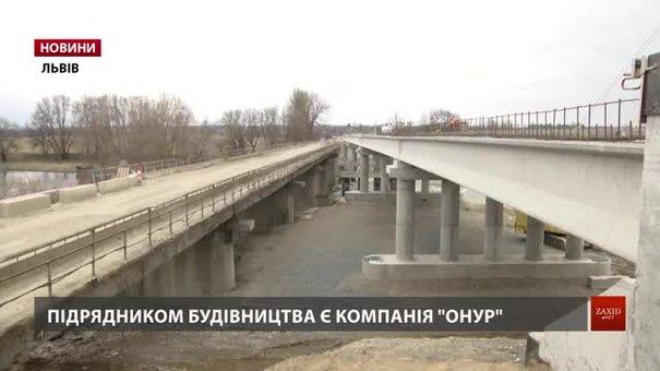 На Жидачівщині добудовують міст через Дністер