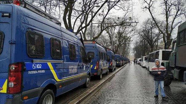Львівська мерія не давала дозволу на перекриття руху у центрі міста