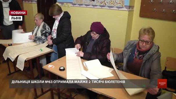 На львівських дільницях показали, як готуються до виборів президента