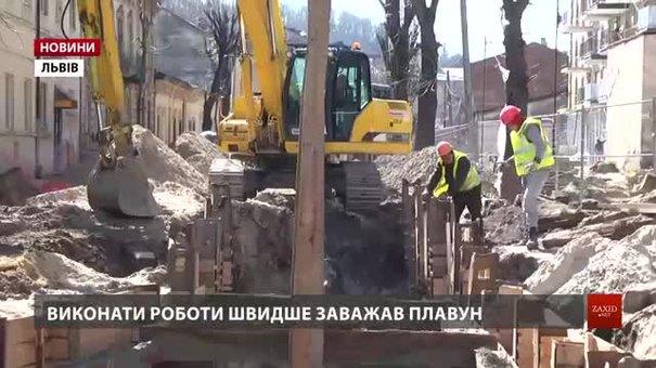 Першу частину відремонтованої вул. Замарстинівської відкриють влітку