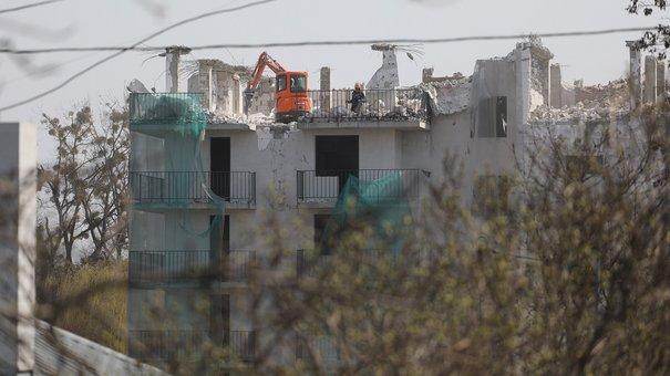 Демонтаж нелегальної багатоповерхівки у Львові завершать до Великодня
