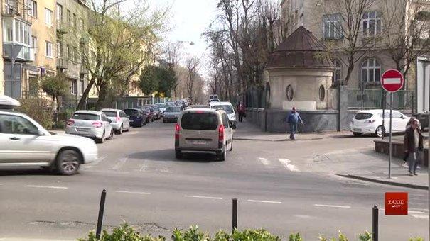 У Львові на Котляревського і прилеглих до неї вулицях встановили нові дорожні знаки