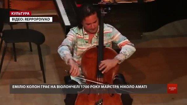 У Львові гастролюватиме американець із віолончеллю італійського майстра Ніколо Аматі