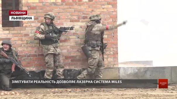 На Яворівському полігоні військові вчаться звільняти міста