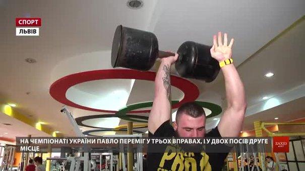 Львівські стронгмени розповіли подробиці своїх чемпіонських виступів на національній першості